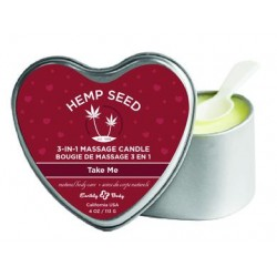 3 in 1 Heart Massage Candle - Take Me
