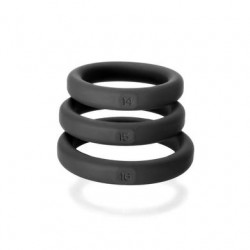 Xact- Fit 3 Premium Silicone Rings - 14, 15,  16