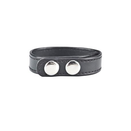 Snap Cock Ring - Black