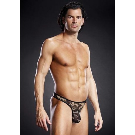Pro-Mesh Thong - Camo - Small/Medium