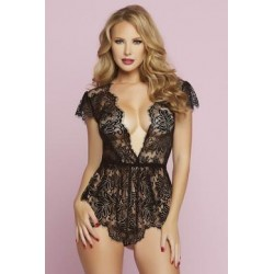 Temptation Romper - Black - Large