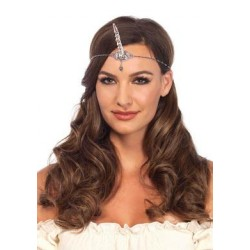 Silver Unicorn Horn Headband - One Size