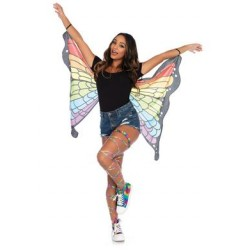 Rainbow Butterfly Wings - One Size