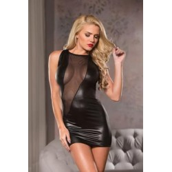 Cut- A- Way Mini- Dress - Black - Large/ Extra  Large
