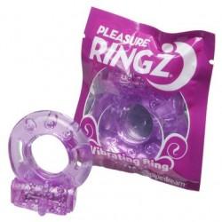 Vibrating Pleasure Ringz - Purple