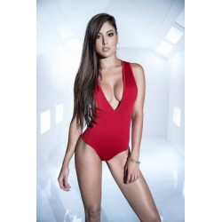 Bodysuit - Large - Red