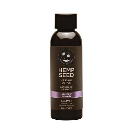 Hemp Seed Massage Lotion - Lavender - 2 Fl. Oz. / 60 Ml