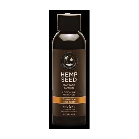 Hemp Seed Massage Lotion - Dreamsicle - 2 Fl. Oz.  / 60 Ml