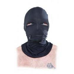 Fetish Fantasy Series Zipper Face Hood