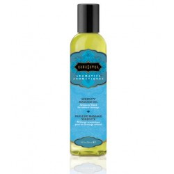 Serenity Aromatic Massage Oil - 8 0z.