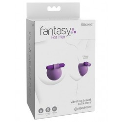 Fantasy for Her Vibrating Breast Suck-hers