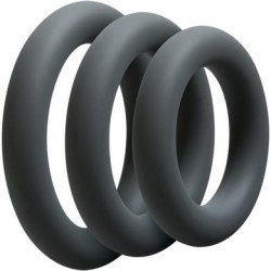 Optimale 3 C-Ring Set - Thick - Slate