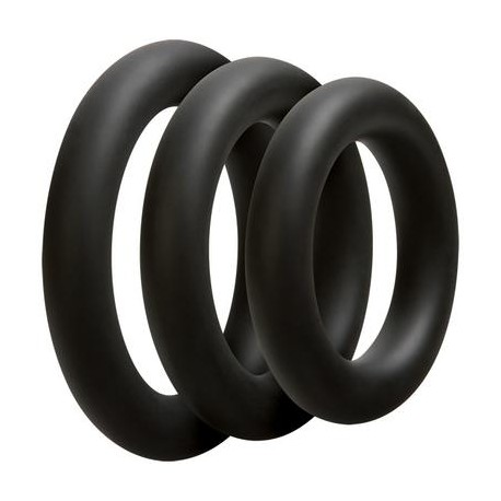 Optimale 3 C-Ring Set - Thick - Black