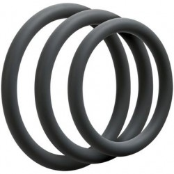 Optimale 3 C-Ring Set - Thin - Slate