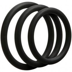Optimale 3 C-Ring Set - Thin - Black