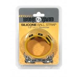 Boneyard Silicone Ball Strap 4cm Stretcher -  Yellow