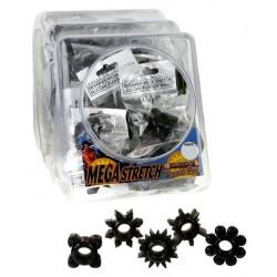Mega Stretch Ring Black - Bowl of 72