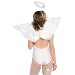 2 Pc Angel Accessory Kit - White