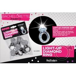 Light Up Diamond Ring 5 Pk