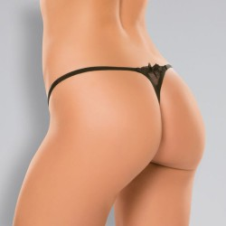 Allure Pixie Panty - One Size - Black