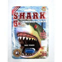 Shark 5k Male Enhancement - Single Pack