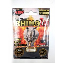 Rhino Zen Platinum Male Enhancement - Single Pack