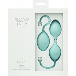 Pillow Talk - Kegel Exerciser - Frisky Teal
