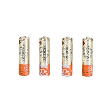 Doc Johnson Batteries AA- 4 Pack