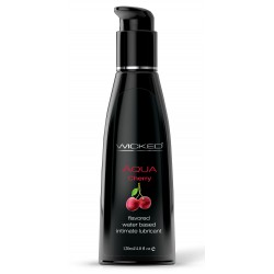 Aqua Cherry Water-Based Lubricant 4 Oz