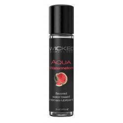 Aqua Watermelon Water-Based Lubricant 1 Oz