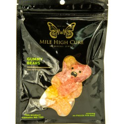 Mile High Cure Hemp Gummy Bears 1000mg - Single Pack