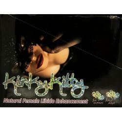 Kinky Kitty Natural Female Libido Enhancement 30 Ct Display