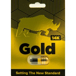 14k Gold Male Sexual Enhancement Single Pack