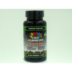 Hemp Bombs High Potency Blend Mood Enhancement  Gummies - 25ct Bottle 712mg