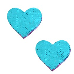 Sequin Jasmine Magic Flip Sequin Purple to Blue I Heart U Nipztix Pasties