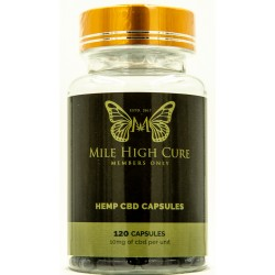 Mile High Cure Full Spectrum Hemp Capsules 10mg 120ct Bottle