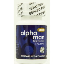 Alphaman Extreme 3000 6ct Bottle