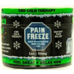 Hemp Bombs Pain Freeze Cream 1 Fl. Oz. 50mg