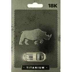 18k Titanium Male Sexual Enhancement Single Pack
