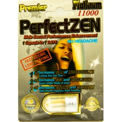 Premier Zen Platinum 11000 Male Enhancement Single Pack