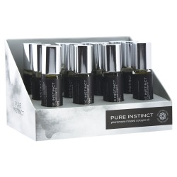 Pure Instinct Pheromone Cologne Oil for Him - 10.2ml 12 Pc Display Set