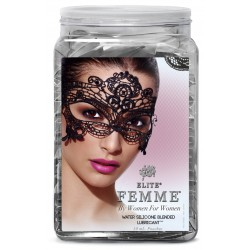 Wet Elite Femme Water Silicone Blend .33 Fl Oz Pouch Counter Bowl 144pc