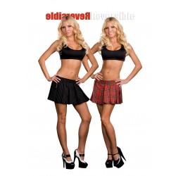 Dreamgir Lreversible School Girl / Gangster Skirt - Multi - Large