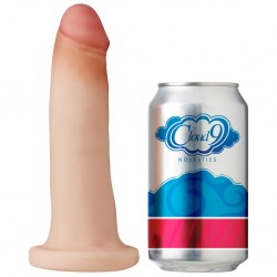 Cloud 9 Novelties Dual Density Real Touch 7 Inch With No Balls - Flesh