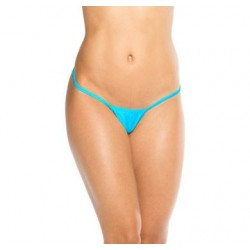 Cover Strap Thong -  Turquoise - One Size