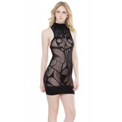 Mini Dress - Black - One Size