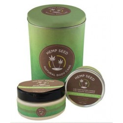Hemp Seed Holiday Tin - Naked  in the Woods