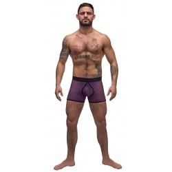 Airotic Mesh Enhancer Short - Purple - Large