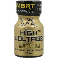High Voltage Gold Electrical Contact Cleaner 10 ml