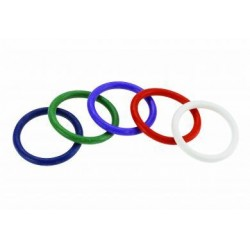 Rainbow Rubber C Ring Pack - 1.5 Inch